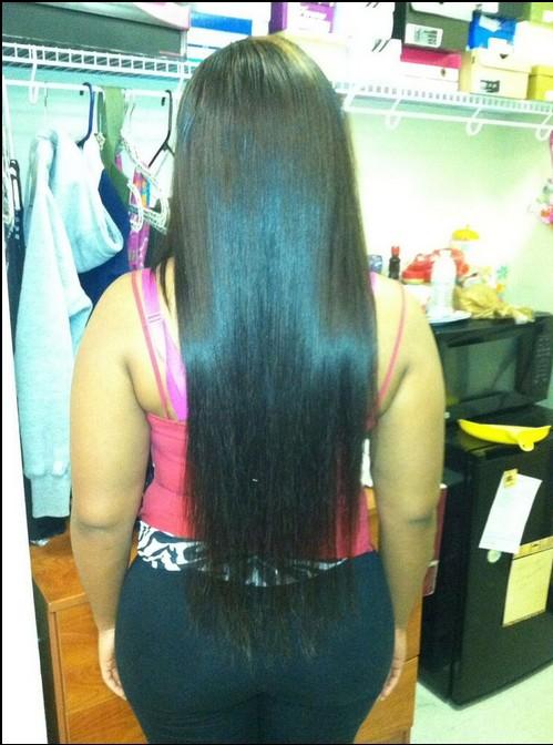 Female Long Hair Style Hair Fetish Atlanta Salon Sew